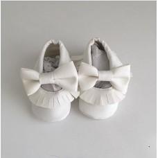 Beyaz açık model ilk adım ayakkabısı