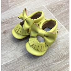 Sarı ilk adım ayakkabısı